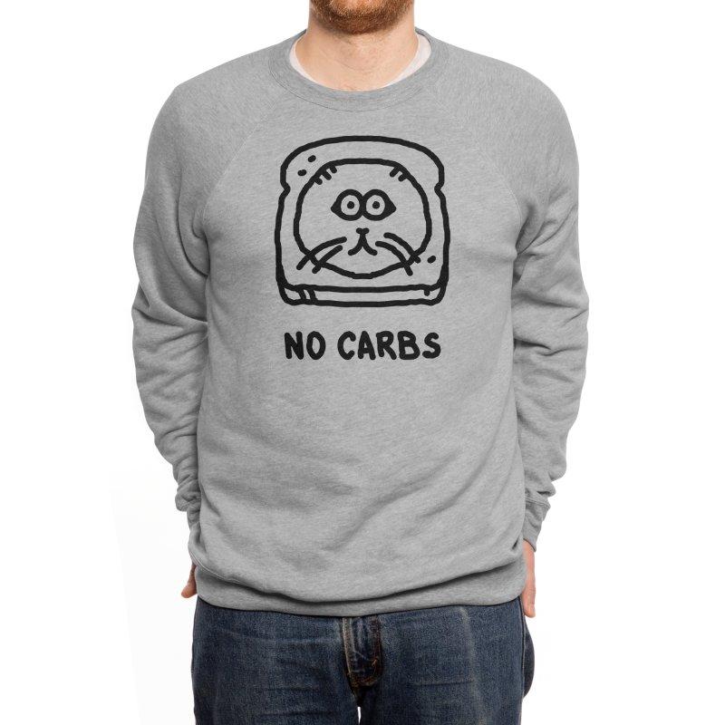 No Carbs Men's Sweatshirt by Threadless Artist Shop
