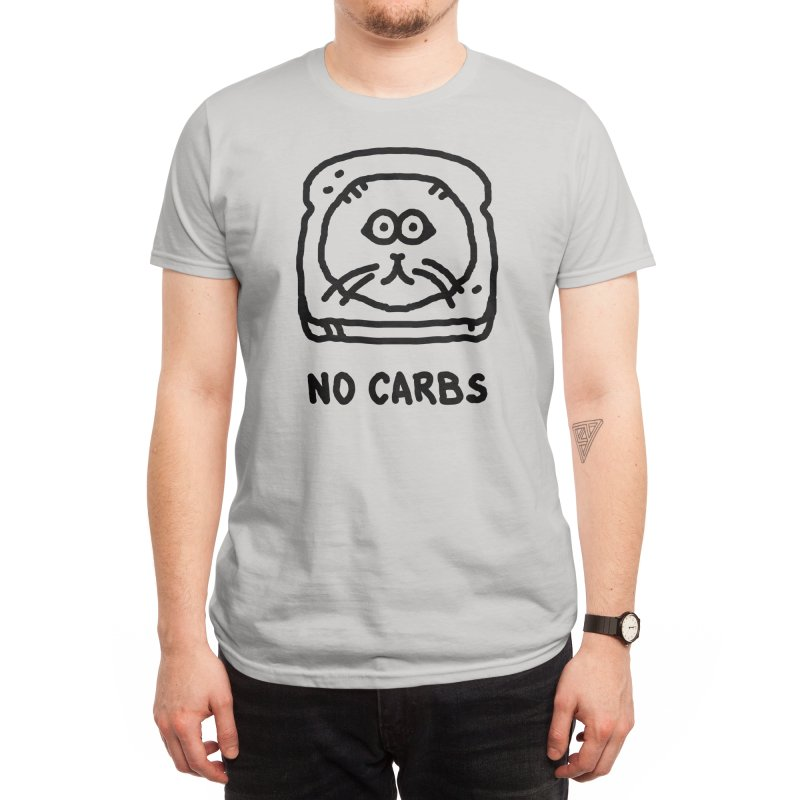 No Carbs Men's T-Shirt by Threadless Artist Shop