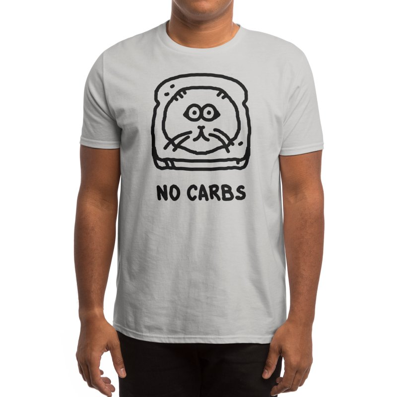 No Carbs Men's T-Shirt by Threadless Artist Shop