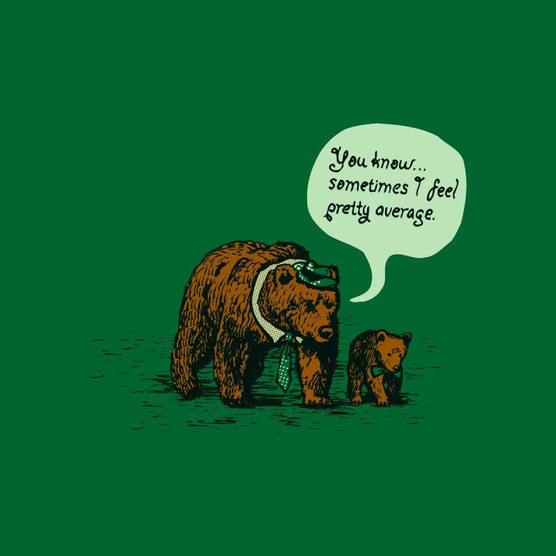 The Average Bear Men's T-Shirt by Threadless Artist Shop
