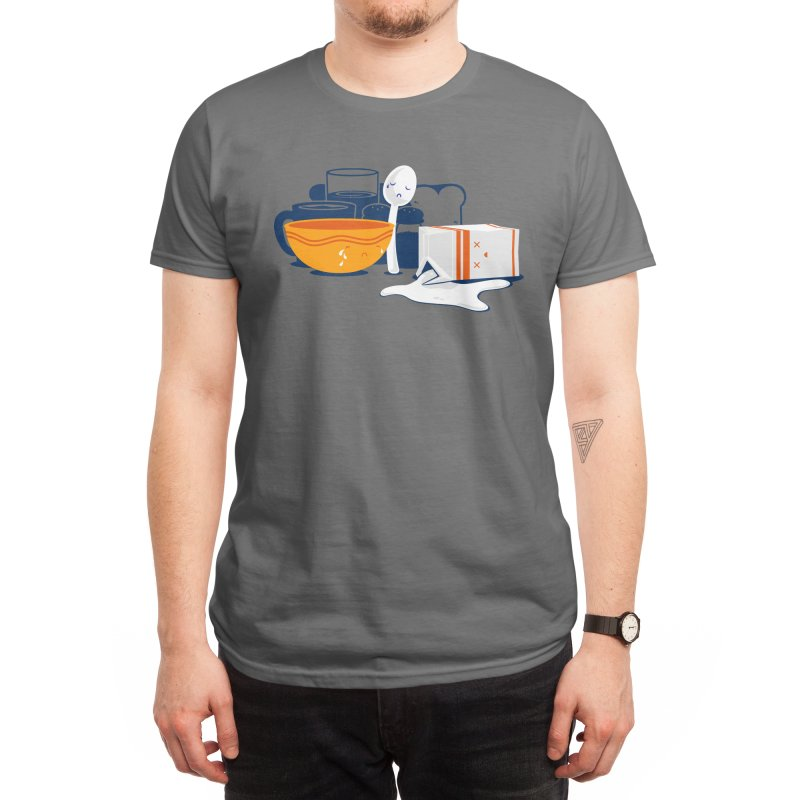 There's No Crying In Breakfast Men's T-Shirt by Threadless Artist Shop