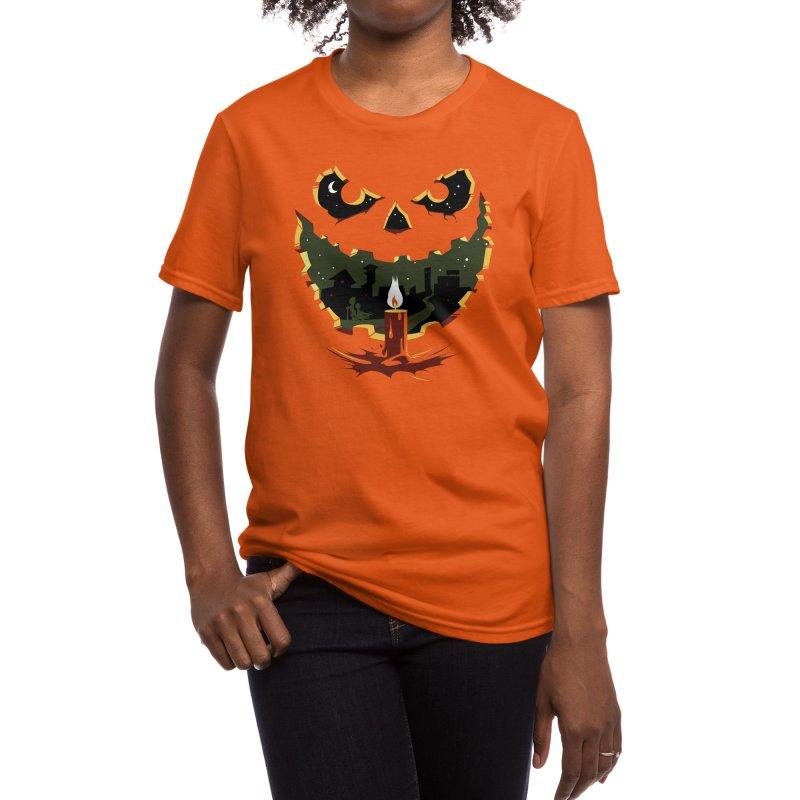 When I Was A Pumpkin Women's T-Shirt by Threadless Artist Shop