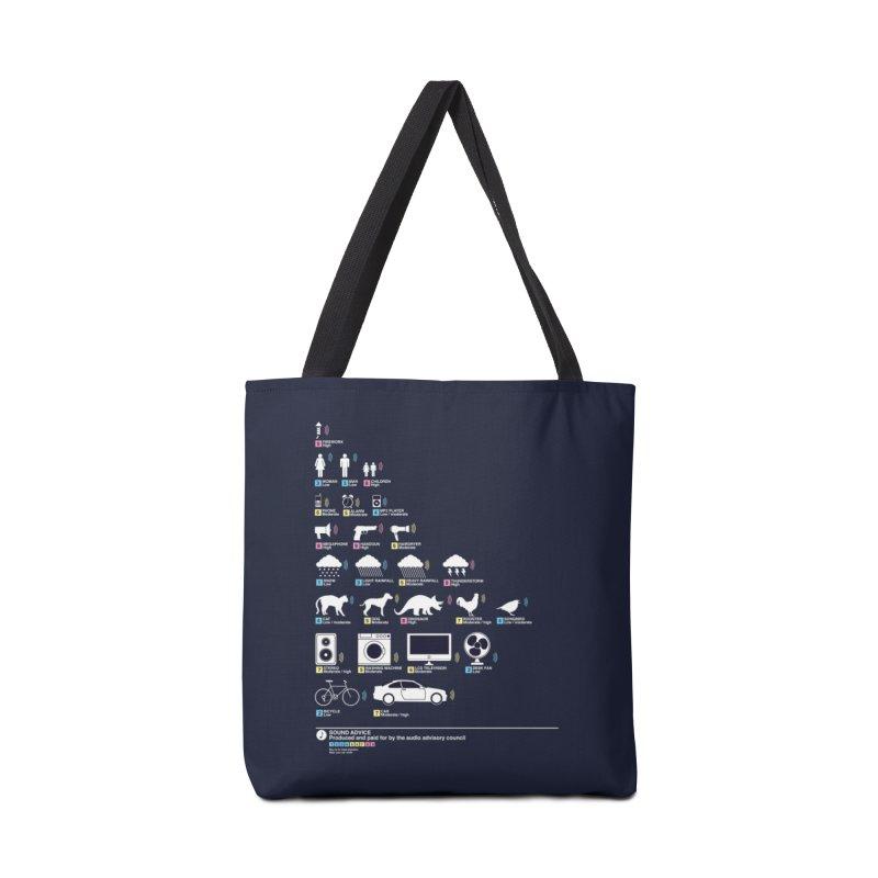 Sound Advice Accessories Bag by Threadless Artist Shop