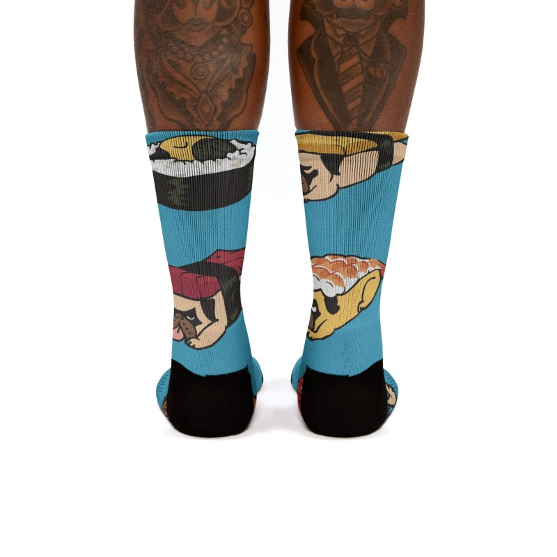 Pug Sushi Women's Socks by Threadless Artist Shop