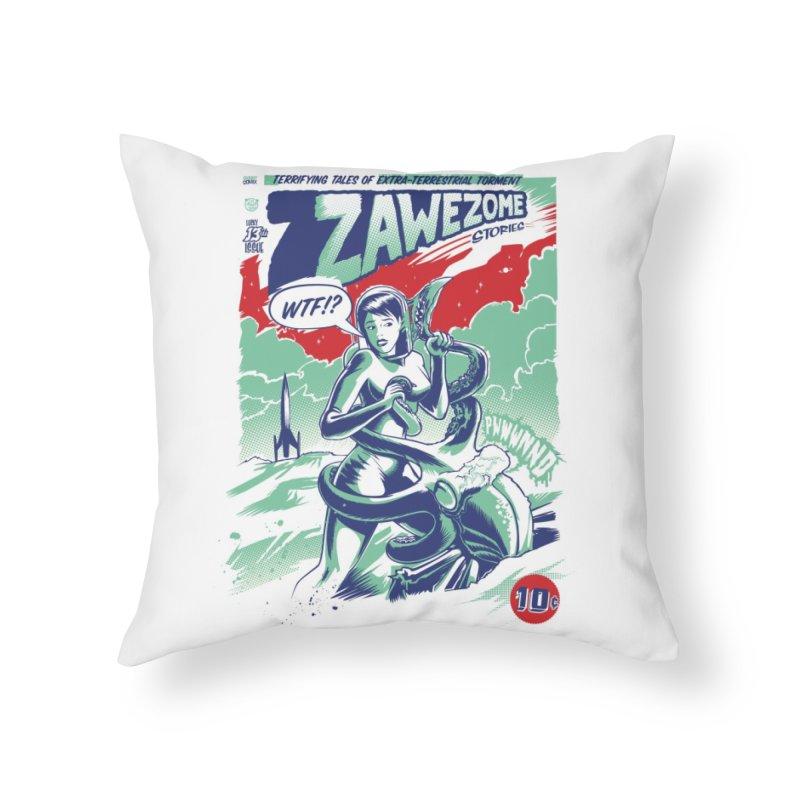 Pulp Home Throw Pillow by Threadless Artist Shop