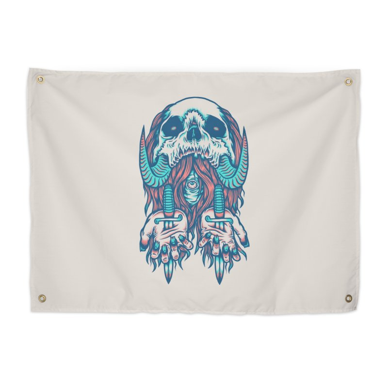 Punish the Wicked Home Tapestry by Threadless Artist Shop