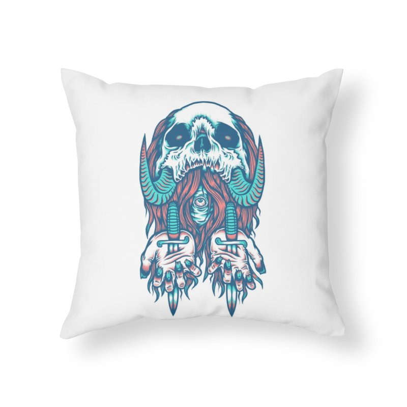 Punish the Wicked Home Throw Pillow by Threadless Artist Shop