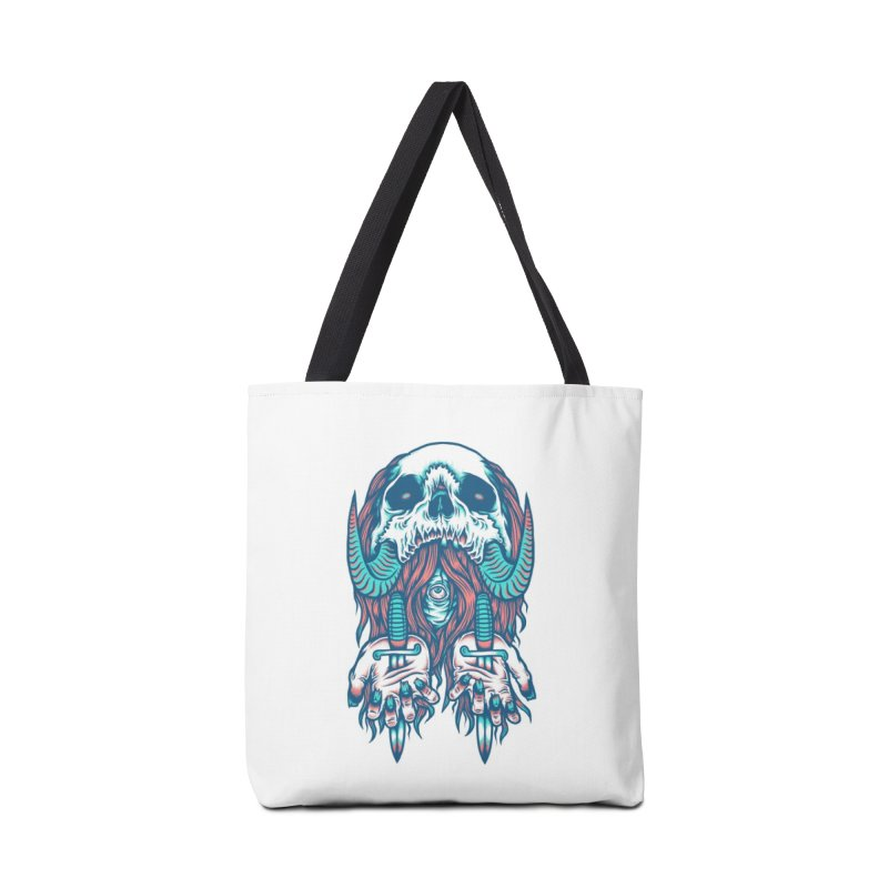 Punish the Wicked Accessories Bag by Threadless Artist Shop