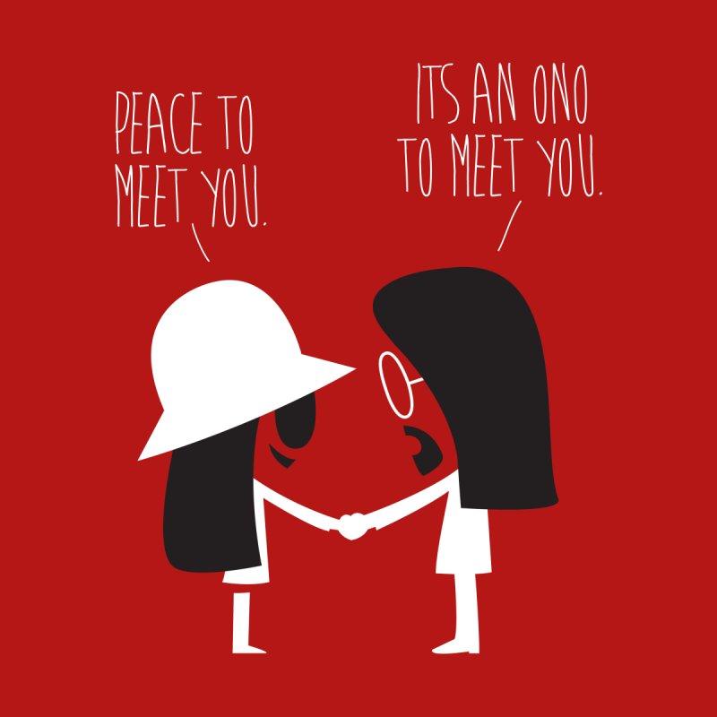Peace to Meet You Men's T-Shirt by Threadless Artist Shop