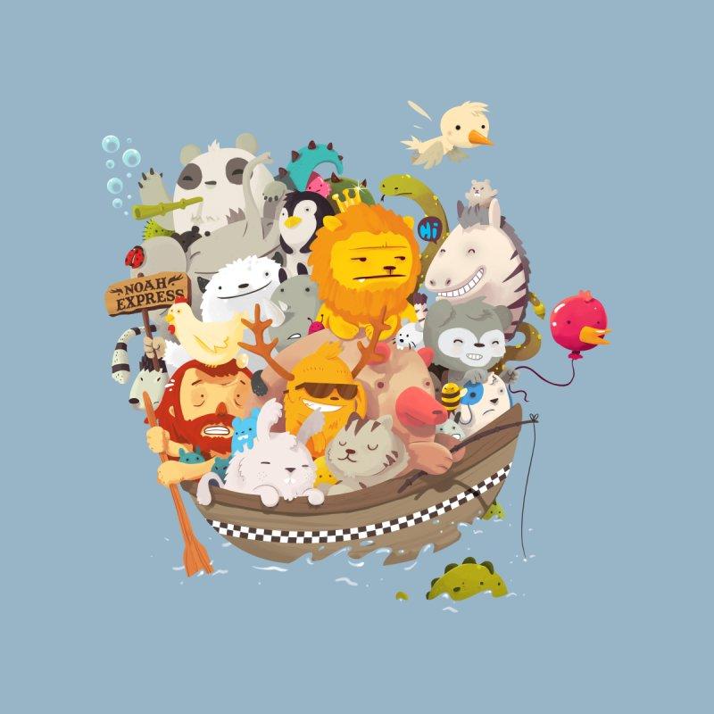 Noah Express Kids T-Shirt by Threadless Artist Shop