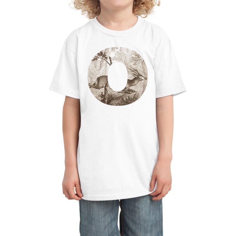 O Deer Kids T-Shirt by Threadless Artist Shop