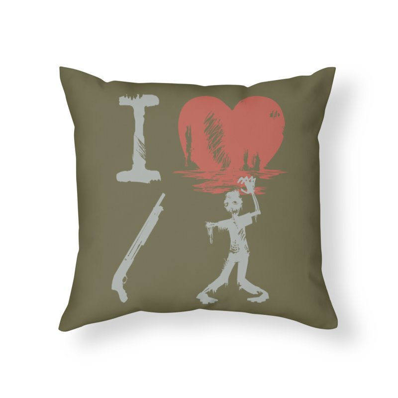 Of The Dead Home Throw Pillow by Threadless Artist Shop