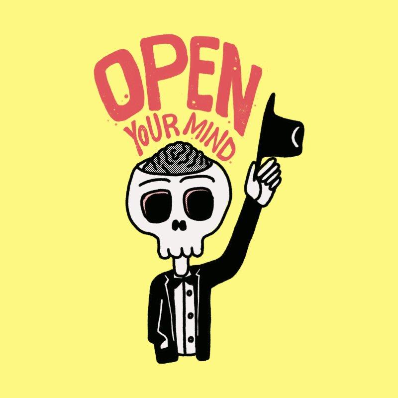 Open Your Mind Men's T-Shirt by Threadless Artist Shop
