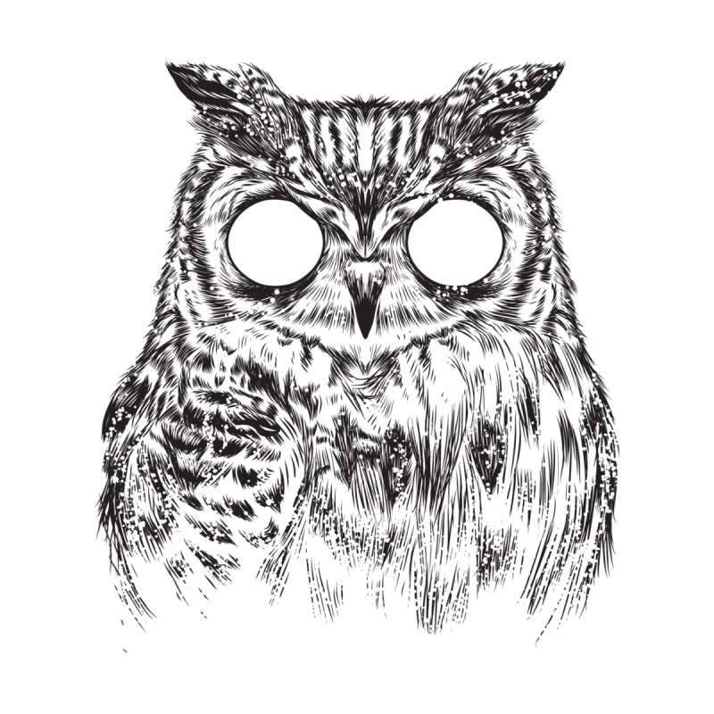 Owltical Illusion Men's T-Shirt by Threadless Artist Shop