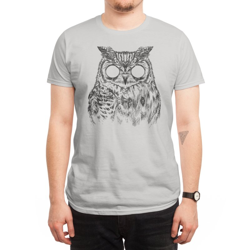 Owltical Illusion Men's T-Shirt by Threadless Artist Shop