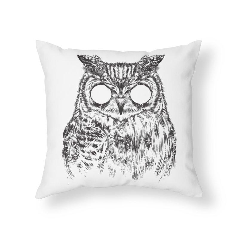 Owltical Illusion Home Throw Pillow by Threadless Artist Shop