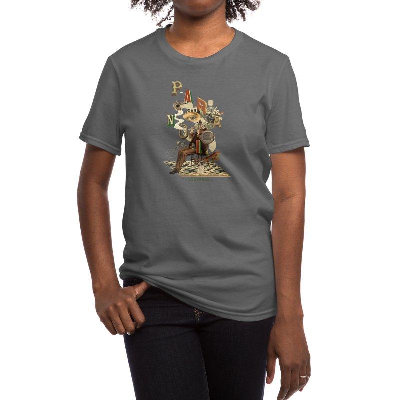 Paranoia Women's T-Shirt by Threadless Artist Shop