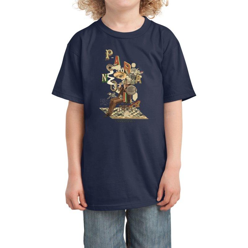 Paranoia Kids T-Shirt by Threadless Artist Shop