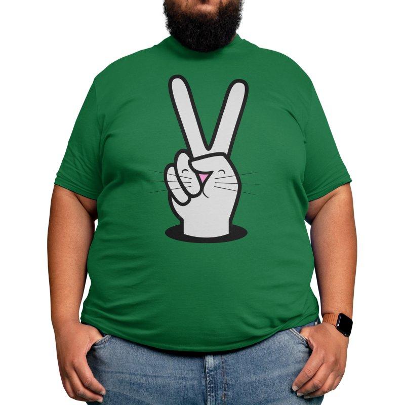 Peace! Men's T-Shirt by Threadless Artist Shop