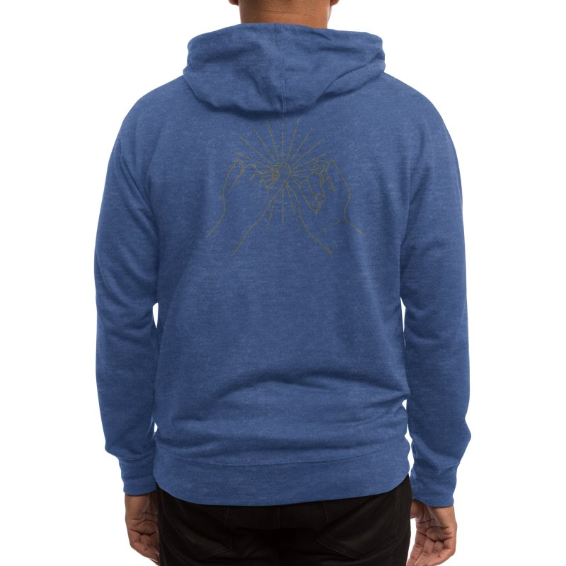 Pinky agreement Men's Zip-Up Hoody by Threadless Artist Shop