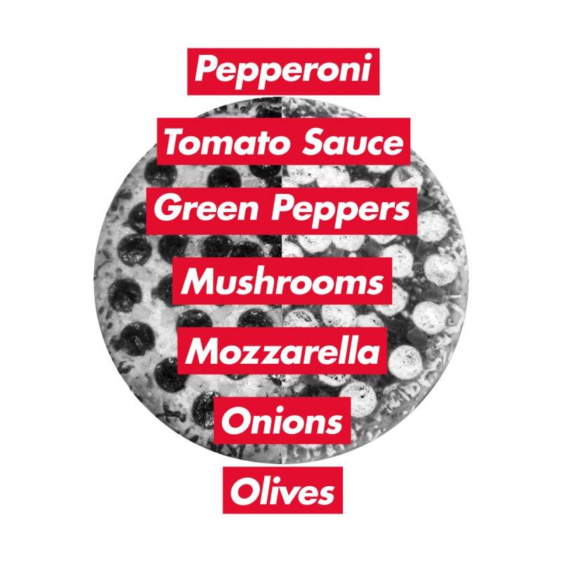Pizza Supreme Men's T-Shirt by Threadless Artist Shop