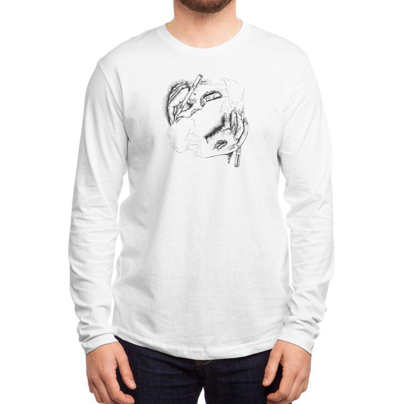 Self Made Zombie. Men's Longsleeve T-Shirt by Threadless Artist Shop