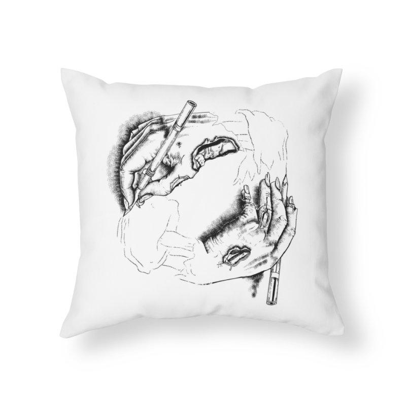 Self Made Zombie. Home Throw Pillow by Threadless Artist Shop