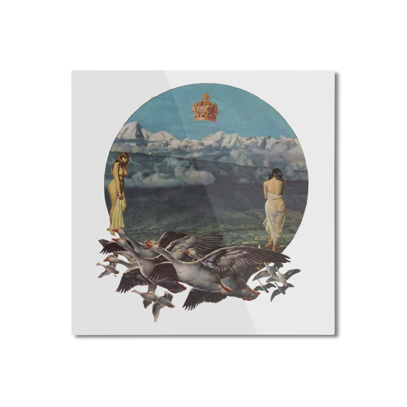 Sensual Migration Home Mounted Aluminum Print by Threadless Artist Shop