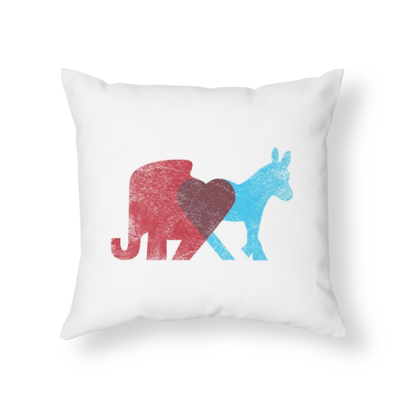 Share Opinions Home Throw Pillow by Threadless Artist Shop