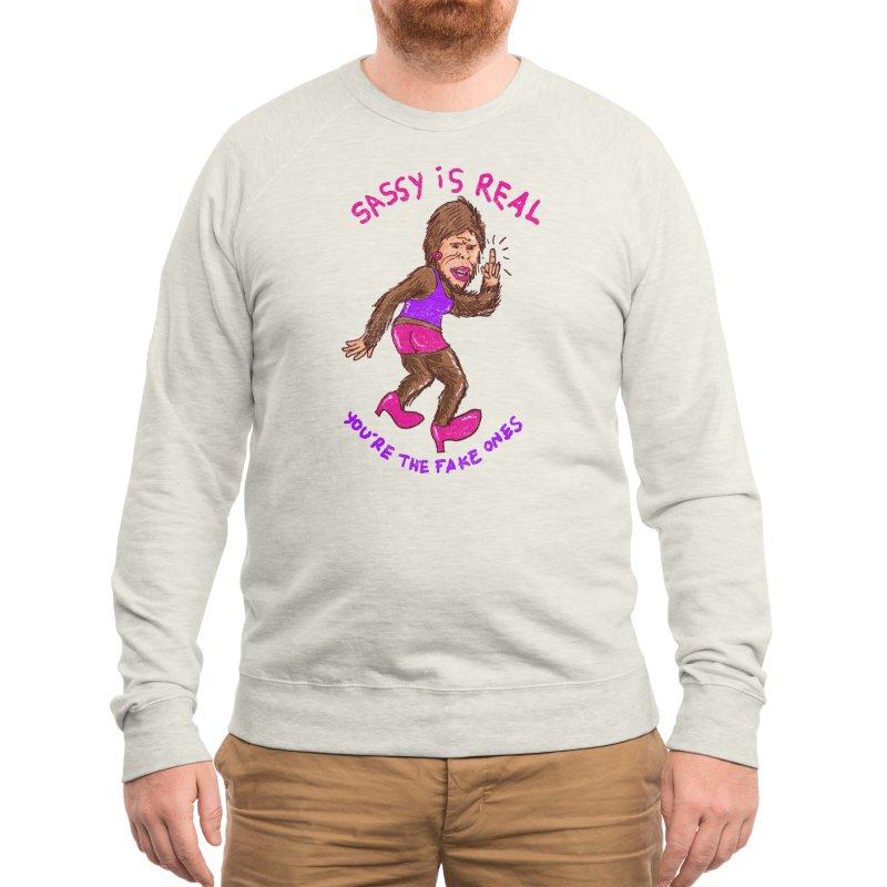 Sassysquatch Men's Sweatshirt by Threadless Artist Shop