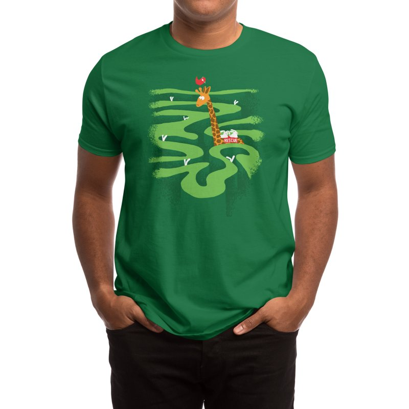 Search and Rescue Men's T-Shirt by Threadless Artist Shop