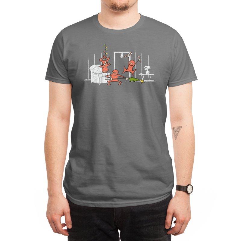 Santa's Silent Helpers Men's T-Shirt by Threadless Artist Shop