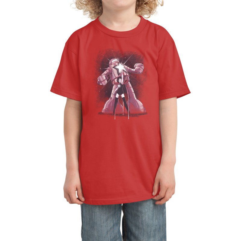 Star Power Kids T-Shirt by Threadless Artist Shop