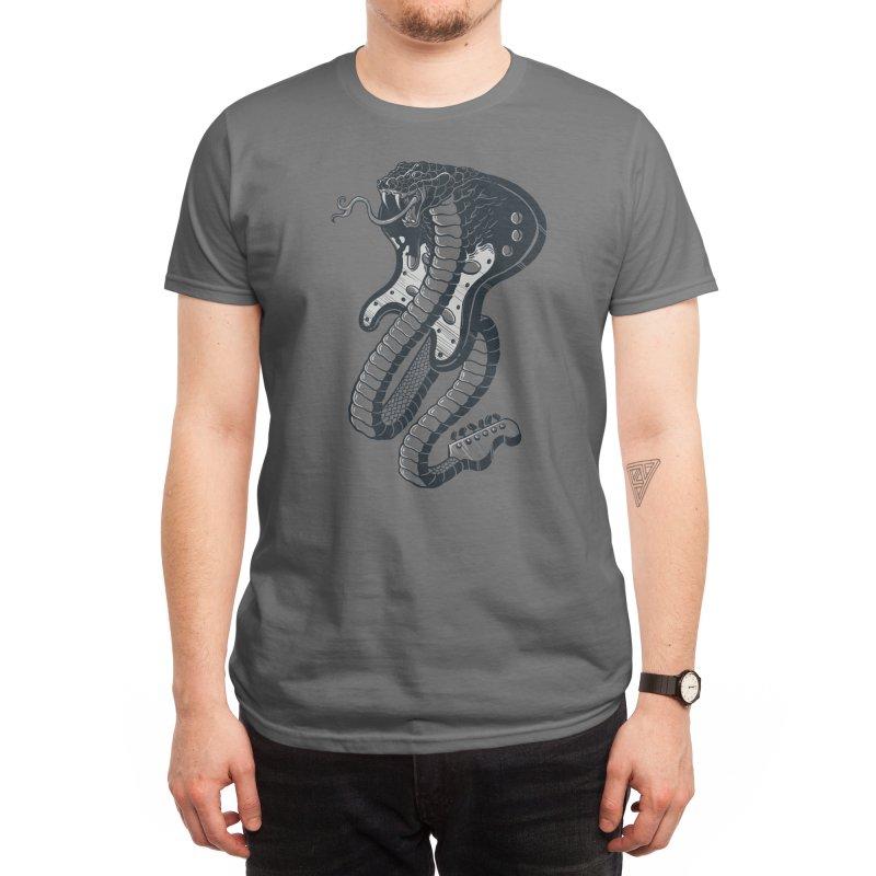 Snakeuitar Men's T-Shirt by Threadless Artist Shop