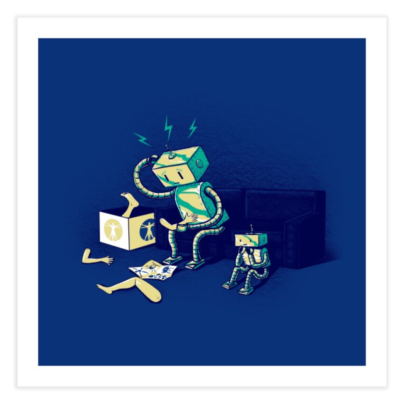 Some Assembly Required Home Fine Art Print by Threadless Artist Shop