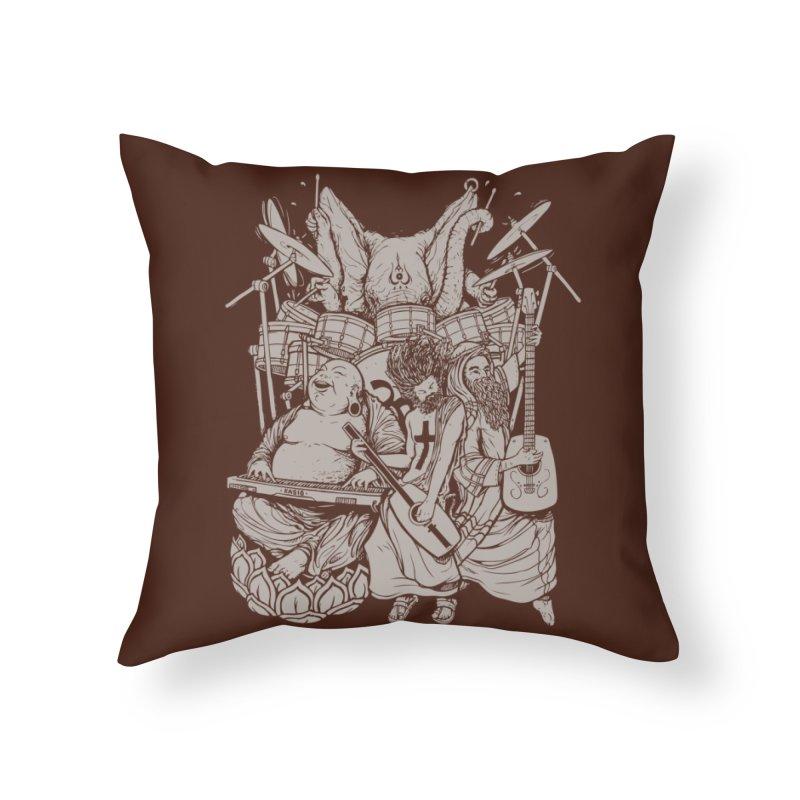 Spiritual Symphony Fin Home Throw Pillow by Threadless Artist Shop