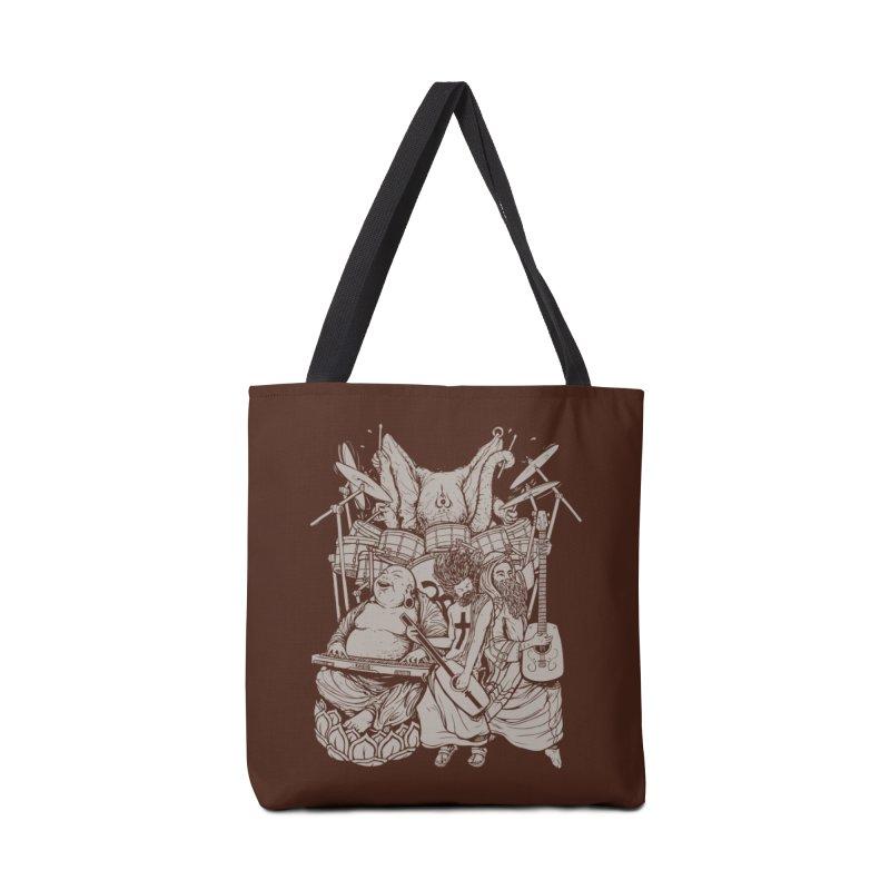 Spiritual Symphony Fin Accessories Bag by Threadless Artist Shop