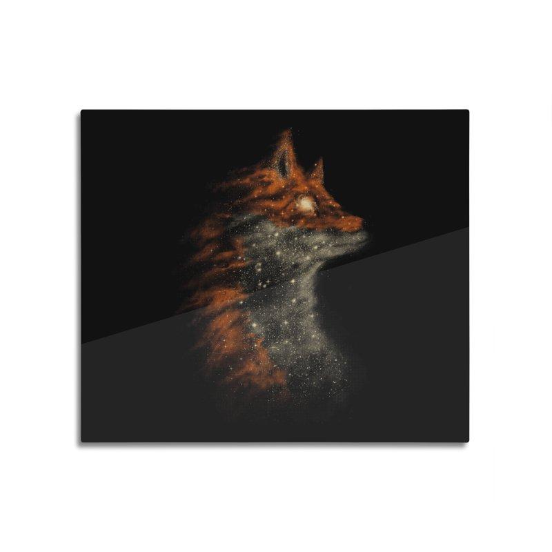 Star Fox Home Mounted Aluminum Print by Threadless Artist Shop