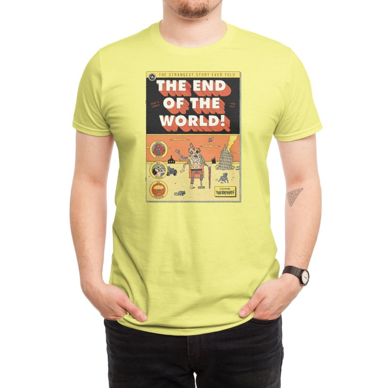 The End Of The World Men's T-Shirt by Threadless Artist Shop