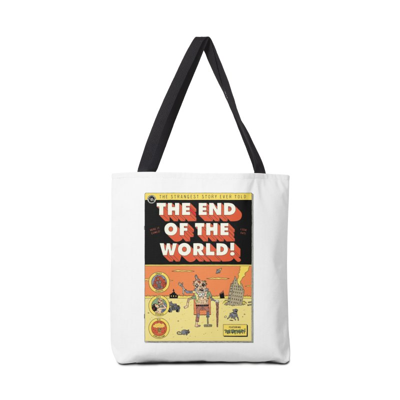 The End Of The World Accessories Bag by Threadless Artist Shop