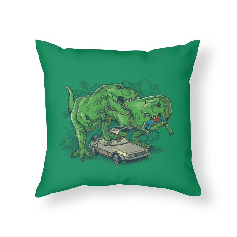 The End of Time Travel Home Throw Pillow by Threadless Artist Shop