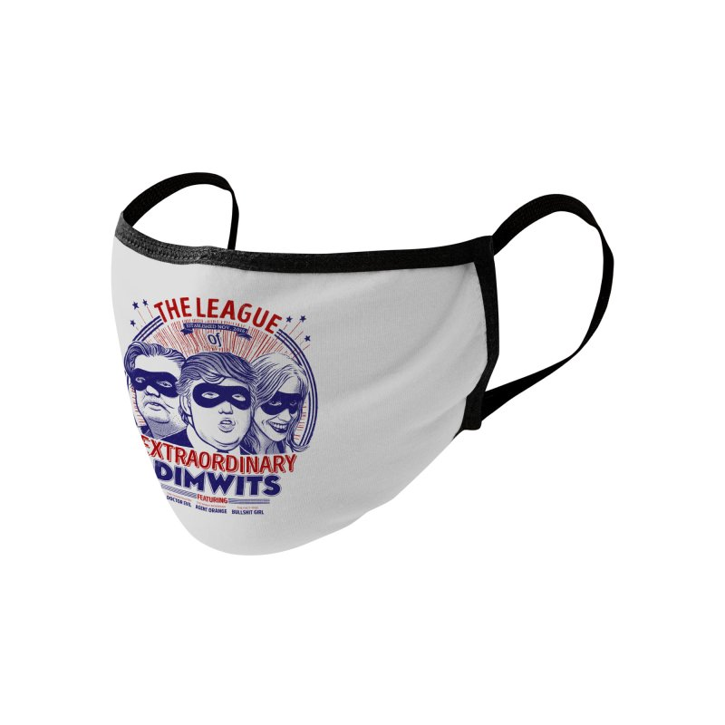 The Extraordinary League of Dimwits Accessories Face Mask by Threadless Artist Shop