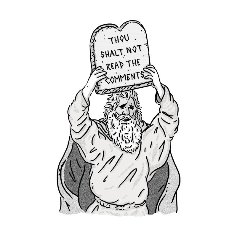 The first Commandment of the Internet Men's T-Shirt by Threadless Artist Shop