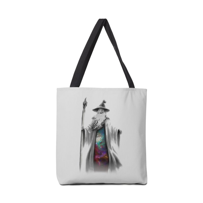 The Grey Wizard Accessories Bag by Threadless Artist Shop