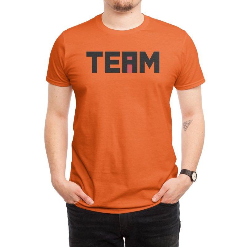 The i in TEAM Men's T-Shirt by Threadless Artist Shop