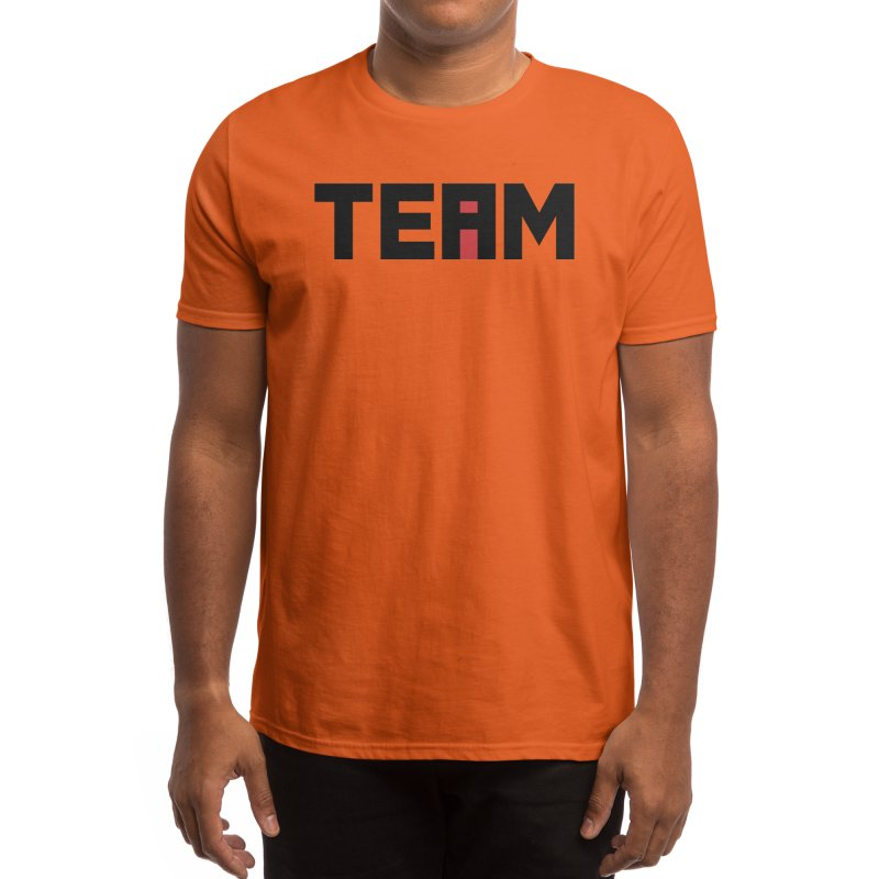 The i in TEAM Men's T-Shirt by Threadless Artist Shop