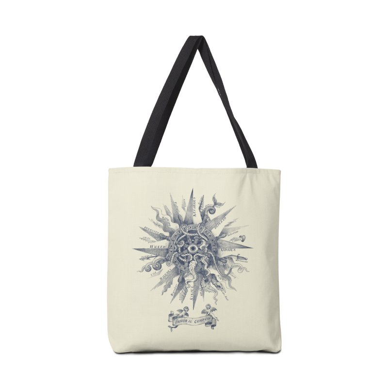 The Immoral Compass Accessories Bag by Threadless Artist Shop
