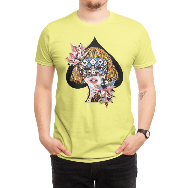 Poker Face Men's T-Shirt by Threadless Artist Shop