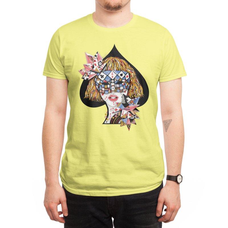 Poker Face Men's T-Shirt by Threadless Artist Shop