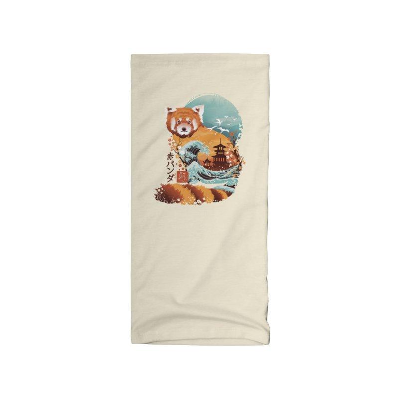 Ukiyo e Red Panda Accessories Neck Gaiter by Threadless Artist Shop